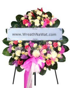 สั่งพวงหรีดดอกไม้สด ชำระเงินได้หลายช่องทาง