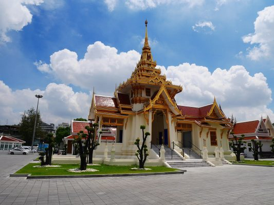 Thepsirin Temple was built by the command of King Rama V